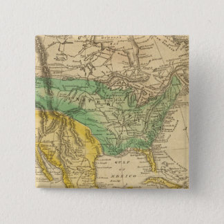 Nordamerika karta vid Worcester Standard Kanpp Fyrkantig 5.1 Cm