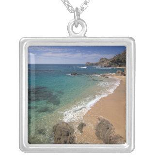Nordamerika Mexico, Baja California Sur, Silverpläterat Halsband