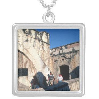 Nordamerika Mexico, Veracruz. San Juan Ulua Silverpläterat Halsband