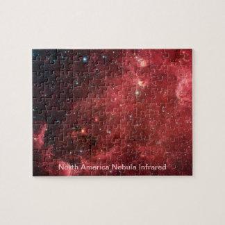 Nordamerika NebulaInfrared Pussel