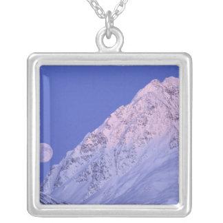 Nordamerika USA, Alaska, Knik flod, Halsband Med Fyrkantigt Hängsmycke