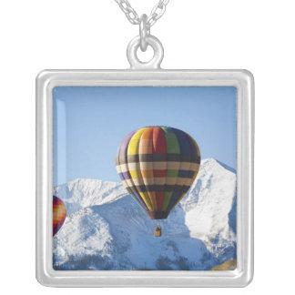 Nordamerika USA, Colorado, Mt. krönade butten, Silverpläterat Halsband