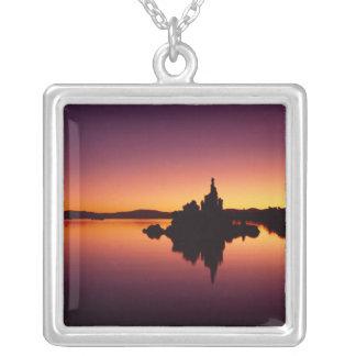 Nordamerika USA, Kalifornien, Mono sjö, Silverpläterat Halsband
