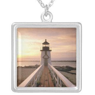 Nordamerika USA, Massachusetts, Nantucket 4 Silverpläterat Halsband