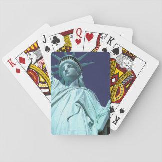 Nordamerika USA, New York, New York City. 7 Spelkort