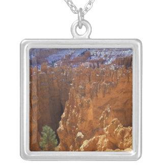 Nordamerika USA, Utah, Bryce kanjon 2 Silverpläterat Halsband