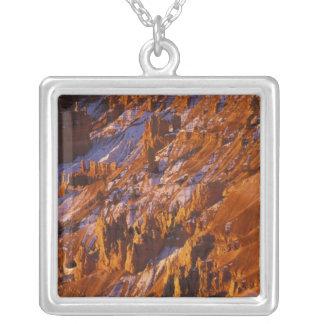 Nordamerika USA, Utah, Bryce kanjon Halsband Med Fyrkantigt Hängsmycke