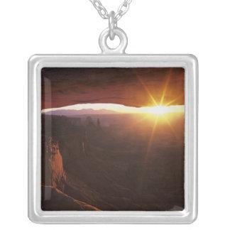 Nordamerika USA, Utah, Canyonlands Silverpläterat Halsband