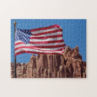 Nordamerika USA, Utah, Torrey, huvudstadrev Pussel