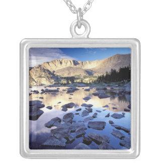 Nordamerika USA, Wyoming, Yellowstone 3 Halsband Med Fyrkantigt Hängsmycke