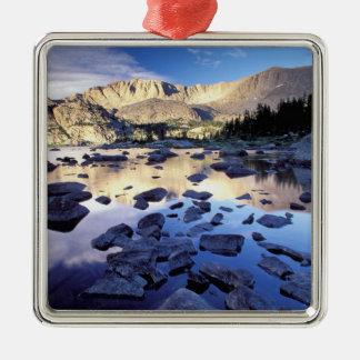 Nordamerika USA, Wyoming, Yellowstone 3 Julgransprydnad Metall