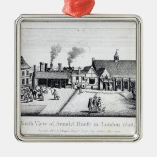Norden beskådar av det Arundel huset i London Julgransprydnad Metall