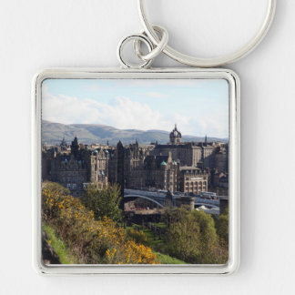 Norden överbryggar, Edinburgh Fyrkantig Silverfärgad Nyckelring