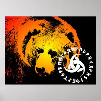 Nordisk björnaffisch affischer