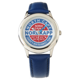 NORDKAPP-norgeklockor Armbandsur