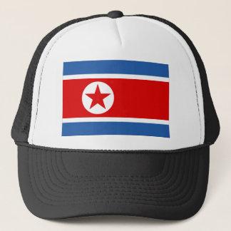 Nordkorea flagga truckerkeps