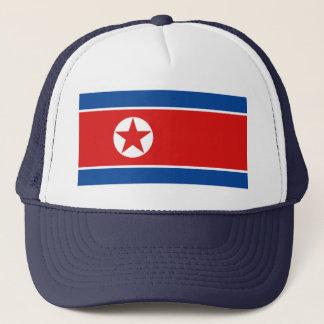 Nordkorea flaggahatt keps