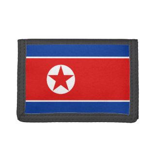 Nordkorea flaggaplånbok