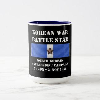 Nordkoreansk agressionkampanj kaffe kopp