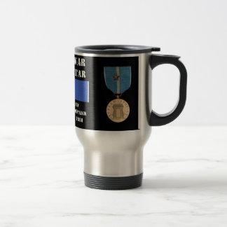 Nordkoreansk agressionkampanj kaffe muggar