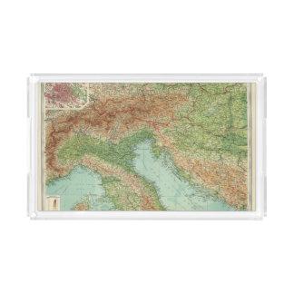 Nordlig italien, Österrike, &c Bricka