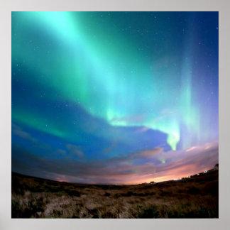 Nordlig ljus Borealis norge, genom att läka kärlek