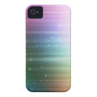 Nordlig ljusblackberry fodral iPhone 4 case