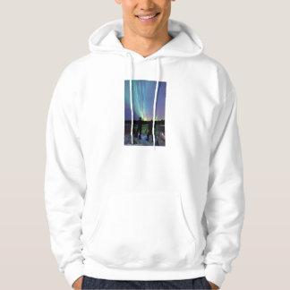 Nordlig ljusHoodie Sweatshirt Med Luva