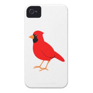 Nordlig röd huvudsaklig fågel Case-Mate iPhone 4 fodral
