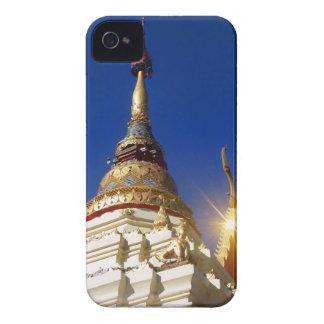 Nordlig thailändsk buddistisk tempelPagoda iPhone 4 Case