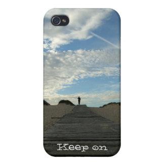 """Nordliga stränder spårar"""" fodral för iPhone 4 iPhone 4 Skydd"""