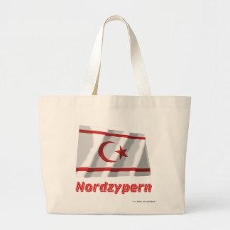 Nordzypern Fliegende Flagge mit Namen Kasse