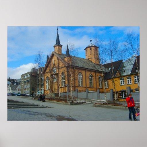 Norge Bergen, Lutherankyrka Affischer