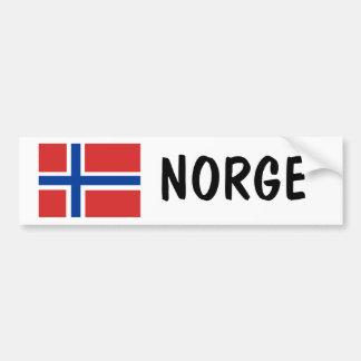 Norge Bildekal