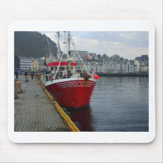 Norge djup vattenfiskeskyttel i port musmatta