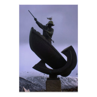 Norge fiskarestaty, nordlig norge poster