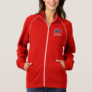 Jacka norsk flagga