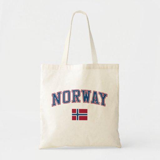 Norge + Flagga Kasse