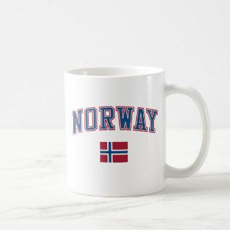 Norge + Flagga Muggar