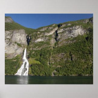 Norge Geirangerfjord (UNESCO), Geiranger. Posters
