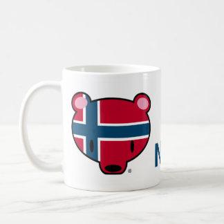 Norge kuma-chan kaffe muggar