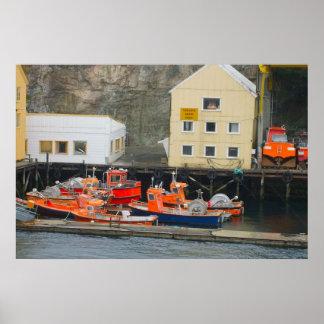 Norge kustfiskeport print