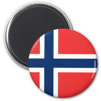 norge magnet rund 5.7 cm