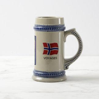 Norge Nansens resor, karta Sejdel