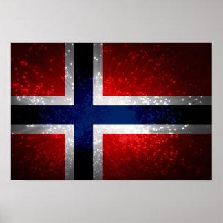 Norge norske print