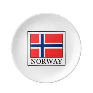 Norge Porslinstallrik
