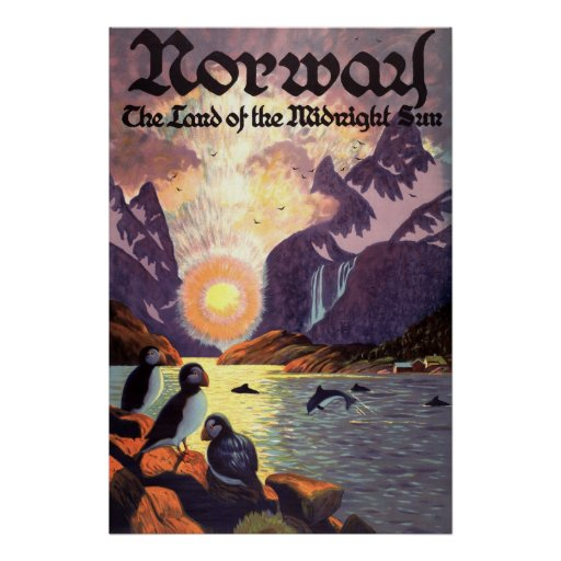 Norge Posters