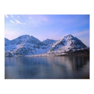 Norge resa till och med fijordsna vykort