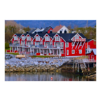 Norge som bor vid vatten, nya hus poster