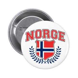 Norge Standard Knapp Rund 5.7 Cm